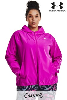 Under Armour Curve Woven Hooded Jacket