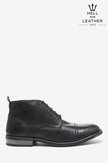 Leather Toe Cap Boots