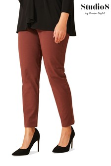 Studio 8 Red Leah Smart Trousers