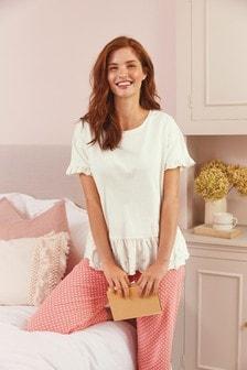 Broderie Cotton Pyjamas