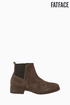 FatFace Grey Calshot Chelsea Boots