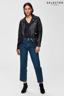 Selected Femme Denim Blue Kate Straight Jeans