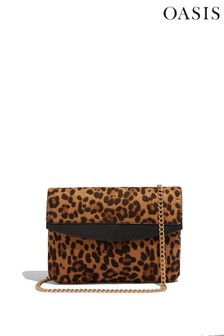 Oasis Animal Chain Strap Clutch