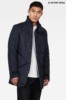 G-Star Blue Scutar Utility Trench Coat