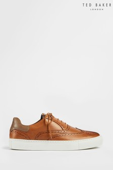 Ted Baker Dennton Brogue Leather Cupsole Shoes