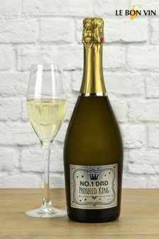 No1 Dad Prosecco Wine Gift Set by LeBonVin