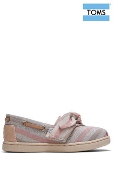 TOMS Tiny Pink Stripe Espadrille