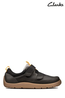 Clarks Black Play Trail K Shoes