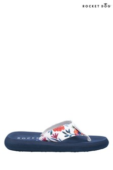 Rocket Dog White Spotlight Winny Flip Flops