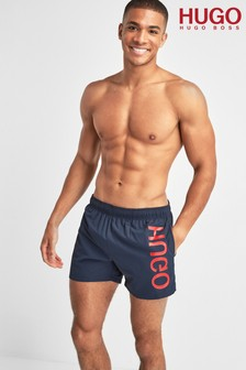 HUGO Blue Saba Swim Shorts