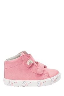 נעלי ספורט גבוהות עם סגירת סקוץ' (ילדים)