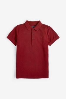 Рубашка поло из фактурной ткани (3-16 лет)