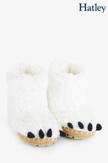 شبشب Polar Bear Paws أبيض للأطفال من Hatley