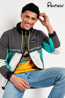 Penfield Black Sagola Colourblock Jacket