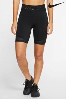"""Nike Pro Black 8"""" Training Shorts"""