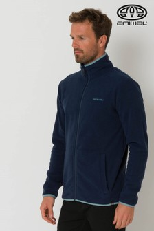 Animal Bethel Zip Through Fleece