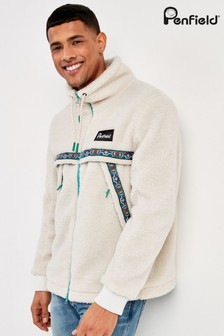 Penfield White Carrside Fleece