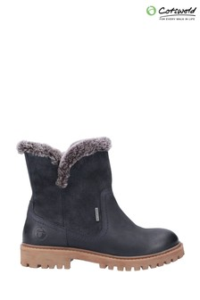 Cotswold Blue Aldestrop Fleece Lined Boots