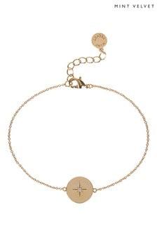 Mint Velvet Gold Plated Celestial Bracelet