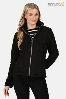 Regatta Black Brandall Full Zip Fleece Jacket