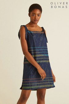 Oliver Bonas Sparkle Stripe Sundress