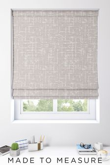 Imperial Pewter Grey Made To Measure Roman Blind