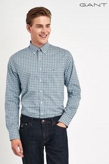 GANT Broadcloth 3 Colour Gingham Regular Shirt