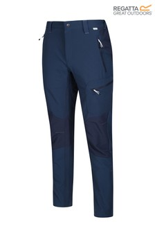 Regatta Blue Questra II Soft Shell Trousers