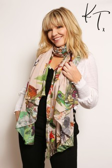 Kate Thornton Moral Compass Lightweight Scarf
