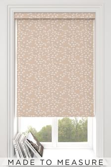 Blush Pink Gilley Made To Measure Roller Blind