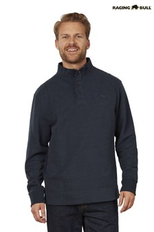 Raging Bull Signature Button Jersey Sweater