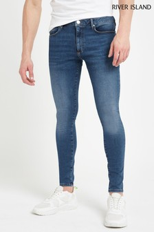 River Island Mid Blue Jeans