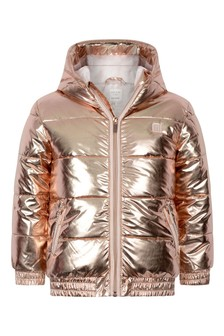 Girls Copper Padded Jacket