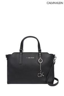 Calvin Klein Black Medium Tote Bag