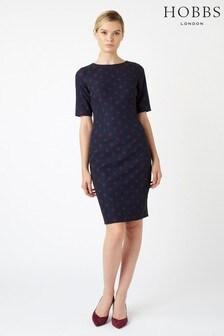 Hobbs Blue Astraea Dress
