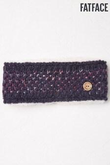 FatFace Blue Spacedye Knit Headband