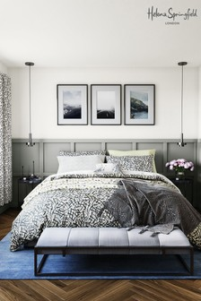 Helena Springfield Anise Geo Duvet Cover and Pillowcase Set