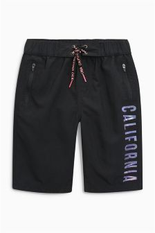 California Print Swim Shorts (3-16yrs)
