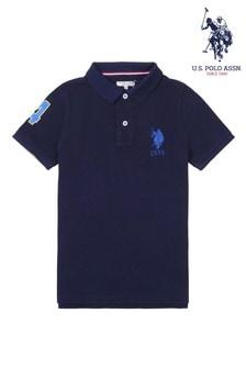 U.S. Polo Assn Blue USPA Plays Polo
