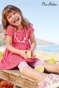 Boden Pink Fun Jersey Dress