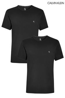 Calvin Klein Black T-Shirts Two Pack