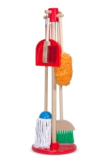Melissa & Doug Lets Play House! Dust, Sweep And Mop