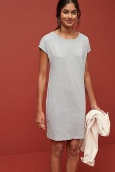 Jersey Boxy T-Shirt Dress