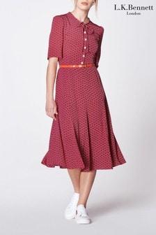L.K.Bennett Montana Silk Dress