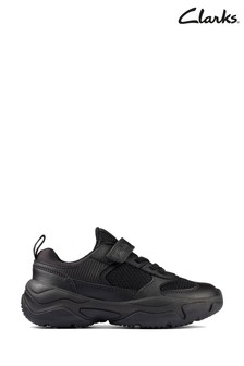 Clarks Black Kuju Run K Shoes