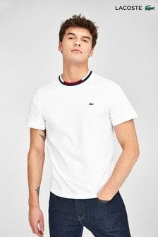 Lacoste® T-Shirt mit kontrastierenden Abschlüssen