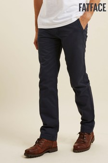 FatFace Navy Blue Modern Coastal Chinos