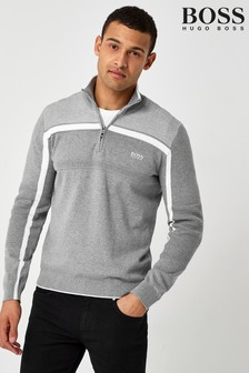 BOSS Grey Zemi Jumper