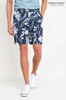 Polo Ralph Lauren Golf Navy Floral Chino Shorts