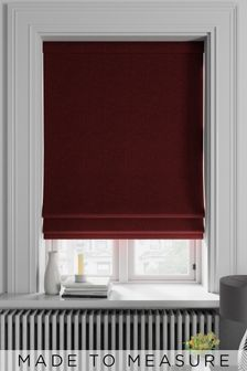 Soho Merlot Red Made To Measure Roman Blind